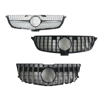 Car styling Middle grille for Mercedes Benz ML W164 W166 GLK X204 ABS plastic Diamond GT front grille vertical bar