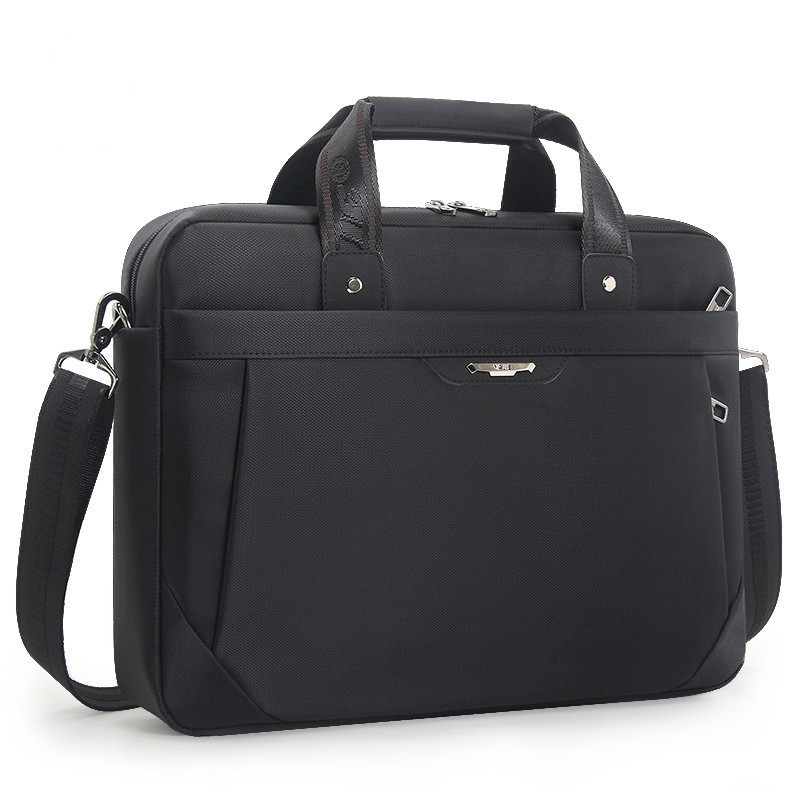 Black Briefcases Men Business Notebook Computer Bag 14 15.6 Inch Laptop Bags Women Handbags Work Office Messenger Bag Briefcase