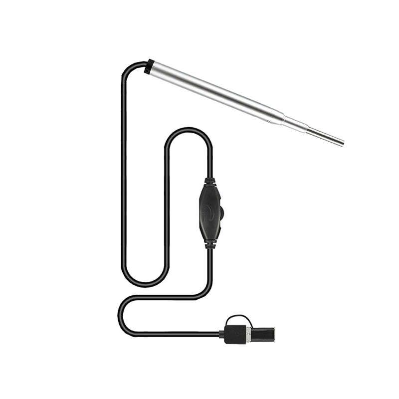 In Ear Mini Medical Endoscope Camera 3.9mm 3 In 1 Usb Plug Endoscope Inspection Camera Ear Nose Borescope|Camcorder Lenses| |  - title=
