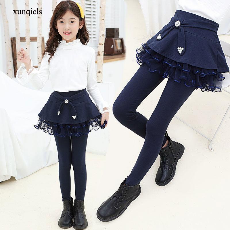 Anak Perempuan Celana Legging Rok Anak Celana Anak Celana Panjang Remaja Lebih Tahan Dr Pakaian Gadis Pakaian 4 14 Tahun Celana Aliexpress