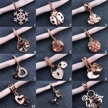 2020 New Infinite Shine Sweet Home Bead Fit Original Pandora Spell Bracelet Necklace Jewelry Women's DIY Production 925 Silver