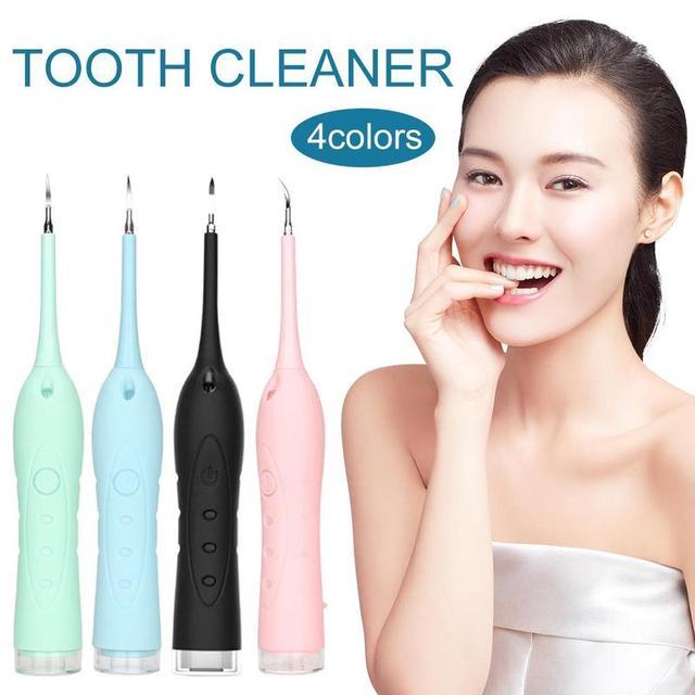 Портативный Ультразвуковой Зубной скалер для здоровья, зубной камень, зубной налет, удаление пятен для зубов, отбеливающая, сильная очистка...