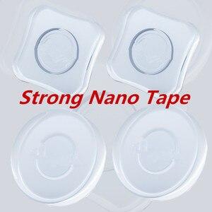 Image 4 - Magia Universale Del Telefono Mobile Del Supporto Per Il telefono A Mano Bastone Nano Tecnologia Nero Bastone di Mano StickerFree Adesivi Veloce Tipo di Pasta