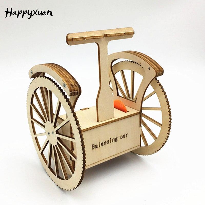 Happyxuan DIY Carro Equilíbrio Crianças Engraçado Experimentos de Ciências Físicas Conjunto Kit de Material Escolar Projetos Stem Educação Dom Brinquedo