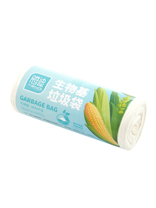 Image 5 - Corn biodegradable household garbage bags classified disposable toilet cleaning kitchen trash bags thicker plastic bags break