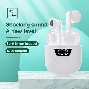 Image 4 - Mini TWS Touch Control Bluetooth 5.0 słuchawki bezprzewodowe 4D słuchawki Stereo gamingowy zestaw słuchawkowy z redukcją szumów dla smartfonów