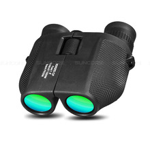 лучшая цена 10X25 HD All-optical Waterproof Professional binoculars Portable Hunting Night Vision Telescope for Outdoor Sports tourism