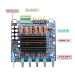 Image 5 - AIYIMA placa amplificadora de potencia TDA7498E, 160W x 2 + 220W, 2,1 canales, Amplificador de sonido Subwoofer, bricolaje, para el hogar y el coche