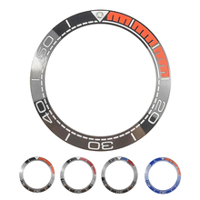 New 41.5mm High Quality Ceramic Bezel Insert For Sea master Diver Mens Watch Watches Replace Accessories Blue/Black/Orange