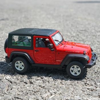 WELLY 1:24 Jeep Wrangler 2007 Jeep Wrangler simulation alloy car model crafts decoration collection toy tools gift джинсы wrangler wrangler wr224emkqr56