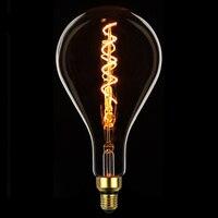 TIANFAN Edison Bulbs A160/PS52 Giant Led Bulb Vintage Spiral Filament 4W Dimmable Decorative Light Bulb