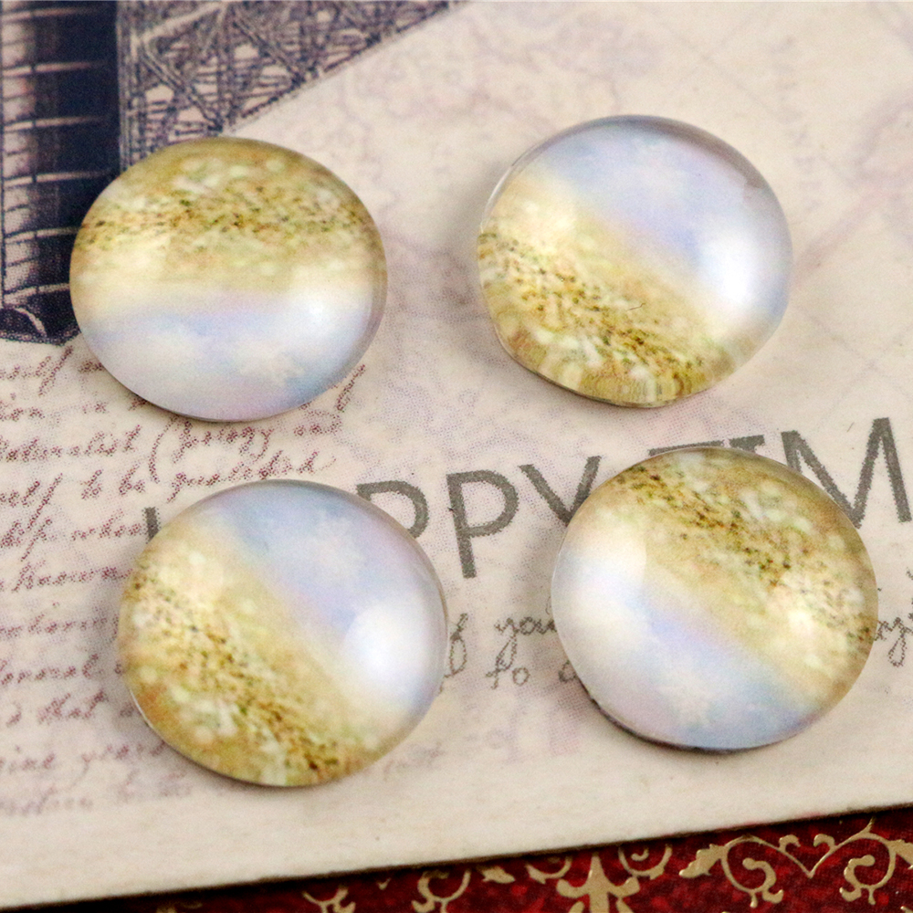 Hot Sale 20pcs 12mm Handmade Photo Glass Cabochons  (E1-25)