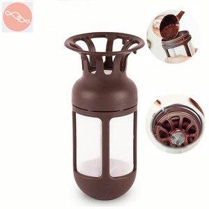 Image 1 - От Xiaomi youpin Kiss рыбка кофейный фильтр Дорожная кружка умный стакан вакуумная изоляция бутылка аксессуары чай фильтр контейнер