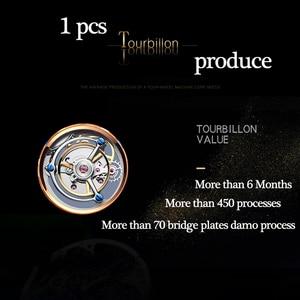 Image 3 - GUANQIN 100% Real Original Tourbillon watch top brand luxury Skeleton constellation waterproof Sapphire Relogio Masculino
