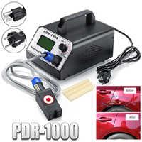 Calentador de inducción removedor de abolladuras sin pintura para quitar abolladuras 220 V/110 V 1000W juego de caja de herramientas caliente para la reparación de carrocería del coche