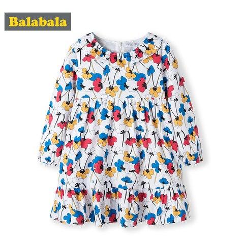 novo algodao manga longa vestido criancas vestidos de traje para princesa