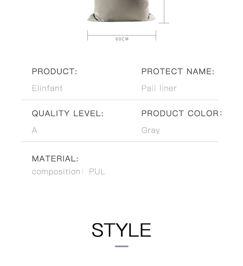 fralda elástica impermeável saco