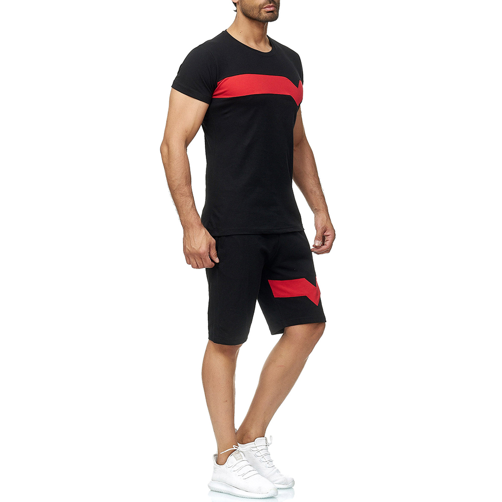 Sports Tracksuit Set for Men Mens Clothing Tracksuits