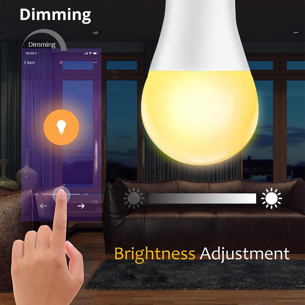 15 w inteligente wi-fi lâmpada regulável rgb
