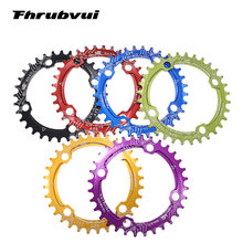 Chain ring 104 BCD Round 32t 34t 36t 38t 40t 42 tooth Narrow n Wide Ultralight Tooth Plate MTB Mountain Bike 104BCD Chainwheel
