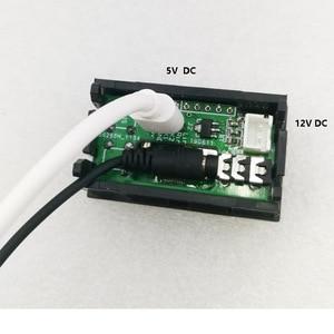Image 4 - 0.96 inç OLED müzik spektrum ekran analiz cihazı W/saat MP3 amplifikatör ses seviyesi göstergesi ritim analizörü VU metre dc 5v  12v