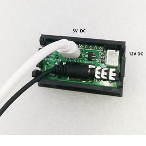 Image 4 - Analisador de espectro de música oled 0.96 polegadas, com relógio, amplificador de áudio e ritmo mp3, medidor dc 5v  12v