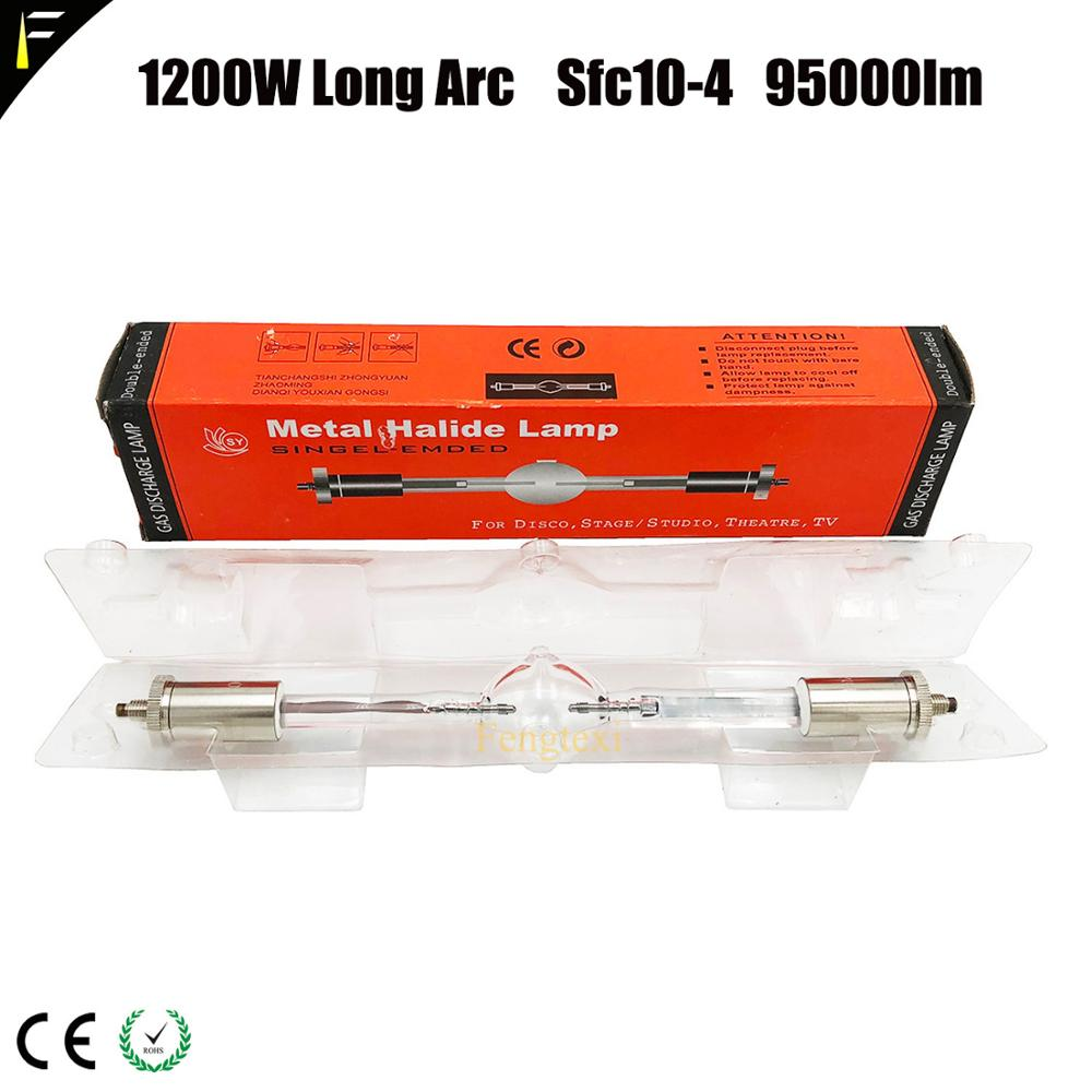 Hmi 1200 1200w Long Arc AC 100w Mental Halide Lamp For Follow Spot Light Moving Head Light Bulb Hmi 1200