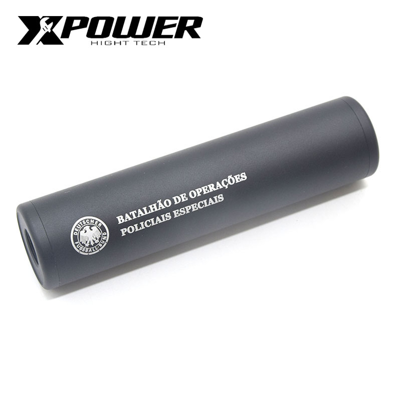 XPOWER Sliencer Airsoft CCW Tactical Accessories Paintball Equipment M4 AEG Suppressor CS Outdoor Sports