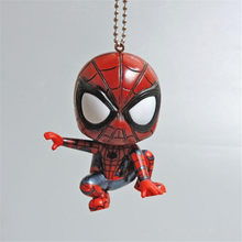 Marvel Movie De Avengers Spider Man Sleutelhanger Cosplay Badge Plastic Pop De Verbazingwekkende Spider Hanger Gift(China)