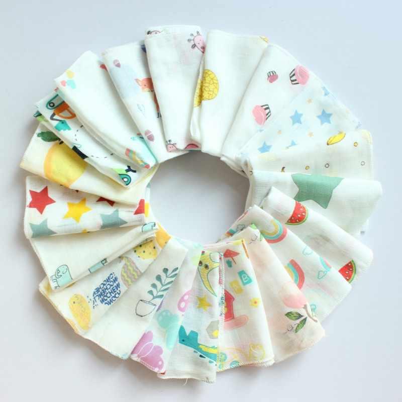 Handtuch Baby Gesicht Handtücher Baby Taschentuch Baby Bad 100% Baumwolle Spucktuch Weichen, Saugfähigen Kindergarten Waschlappen 30X30Cm