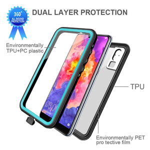 Image 5 - MOMOTS Shockproof Waterproof Case for Huawei P20 P20 Lite Mate 20 Pro 360 Silicone Transparent Case for Huawei P40 P30 Pro Funda