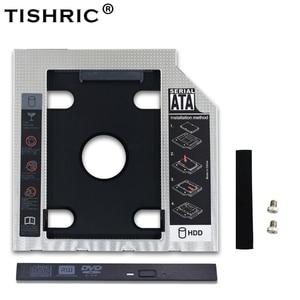TISHRIC 2nd HDD Caddy 12,7 мм/9 мм Optibay SATA 3,0 2,5 HD SSD жесткий диск HDD Чехол/коробка/корпус для ноутбука CD-ROM адаптер