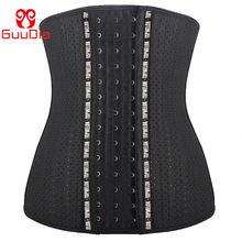 GUDIA-Entrenador de cintura de adelgazamiento para mujer, corsé de látex de goma, cinturón recortador de cintura para mujer, faja de compresión para pérdida de peso, entrenamiento Fitness