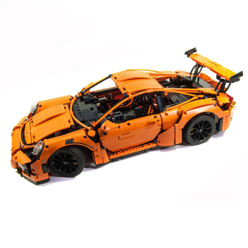 Compatible 42056 Technic Series Super Car Bugatti Chiron Mustang GT-911 Model 20001 Building Blocks Toy