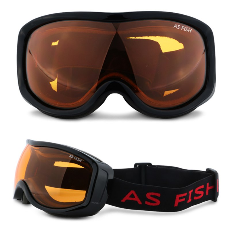 Adult Anti-Fog Ski Goggles Skiing Cool Winter Sport Snowboard Goggles UV Protection Goggle