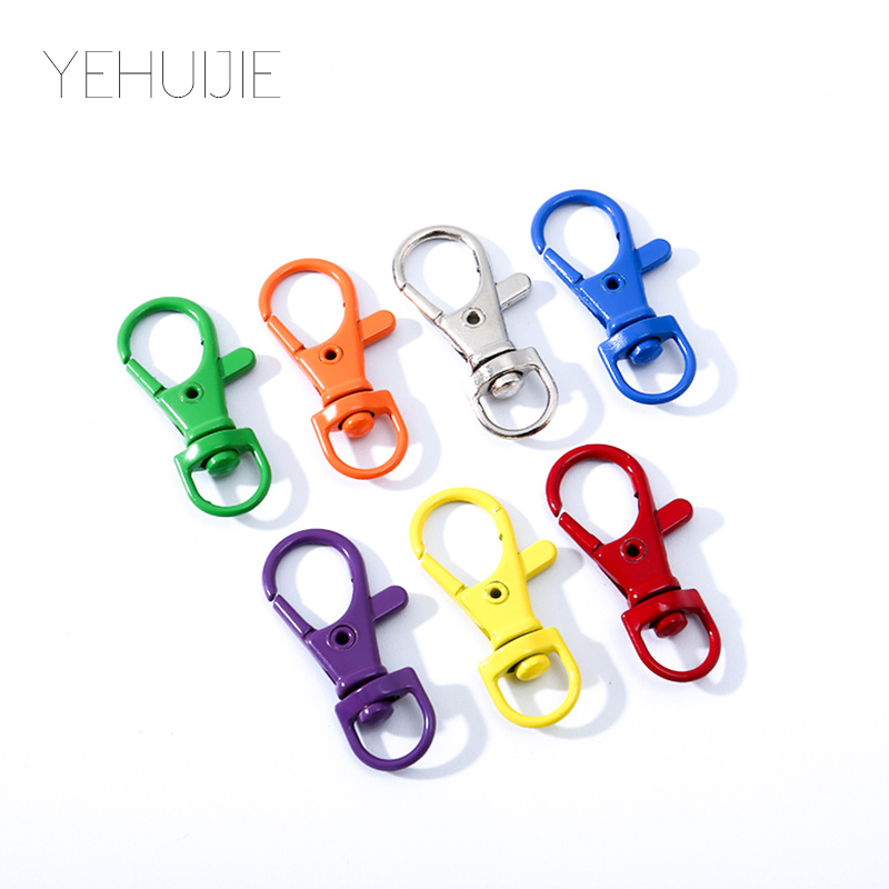 Gay Lesbian Pride Rainbow Metal Pendant Keychain Cute With Lobster Buckle Car Keyring Keychains DIY ALL Jewelry Accessories