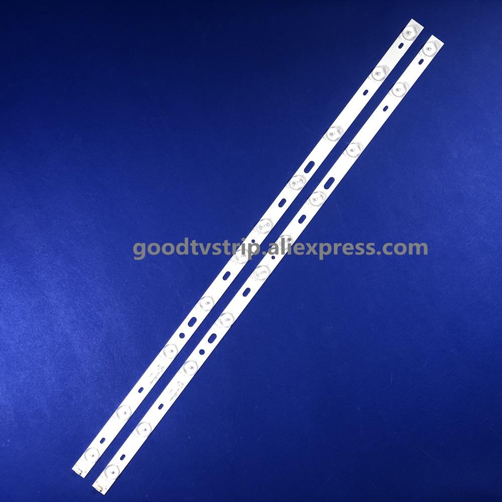 1lot=2pieces Pb08d623173bl042-005h 320B01301401 62CM 10 Lamps  6v