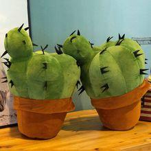 Cushion Simulation-Cactus Cuddly-Toy Plant Car-Plush Stuffed Soft Ornament Potted Sofa