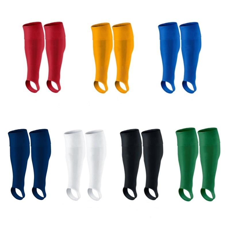 New Men Team Sports Football Stirrup Socks Breathable Soft Knee High Baseball Stirrup Socks Non-Slip Training Socks