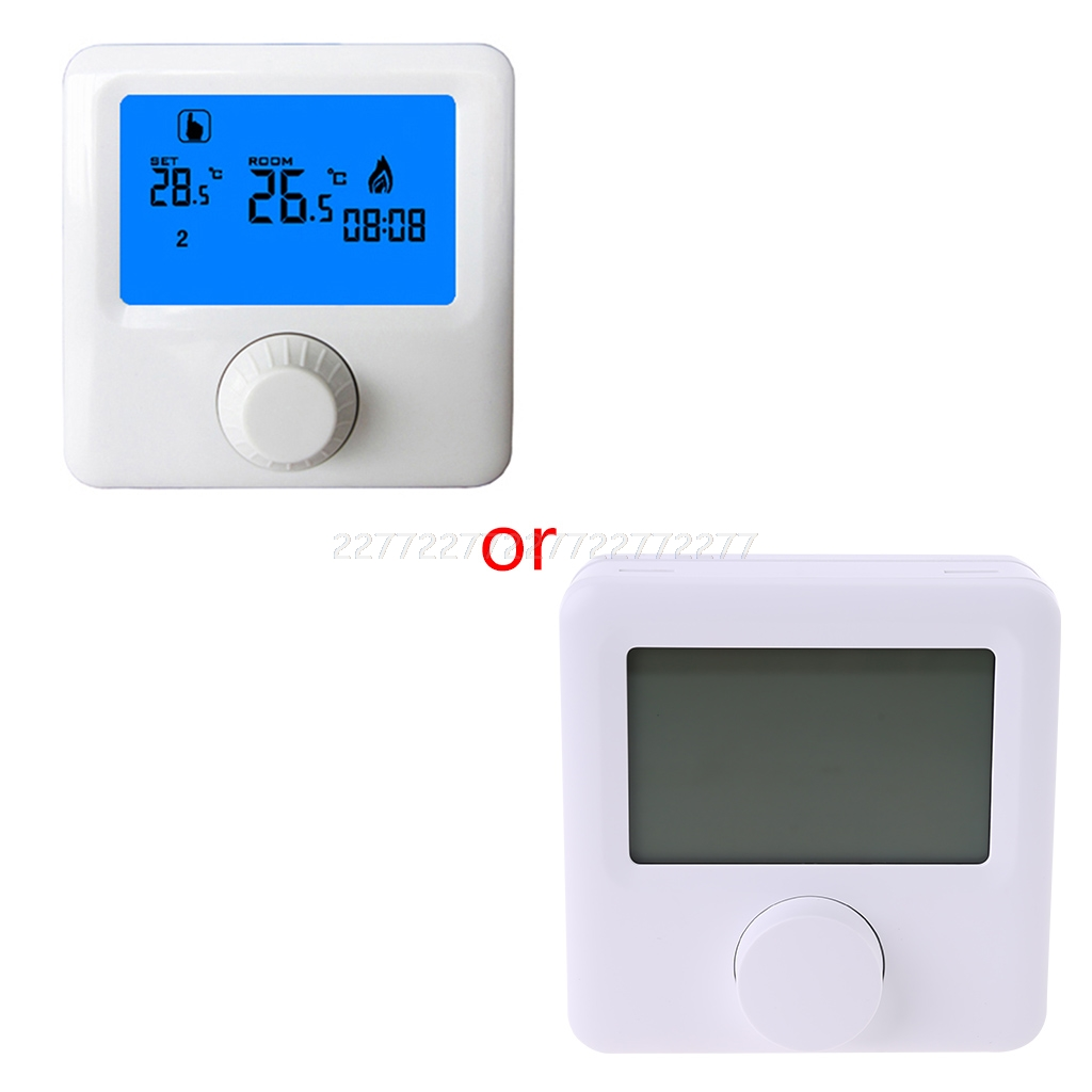 LCD Display Wall-hung Gas Boiler Thermostat Weekly Programmable Room Heating Thermostat Digital Temperature Controller N26