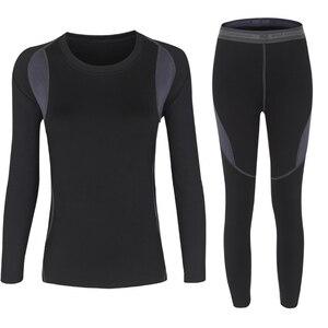 Image 3 - 2 ชิ้นชุดผู้หญิงที่อบอุ่นฤดูหนาวความร้อน Plush กำมะหยี่ความร้อนเสื้อผ้าร้อนแห้งเทคโนโลยีการจับคู่ชุด Conjuntos De Mujer