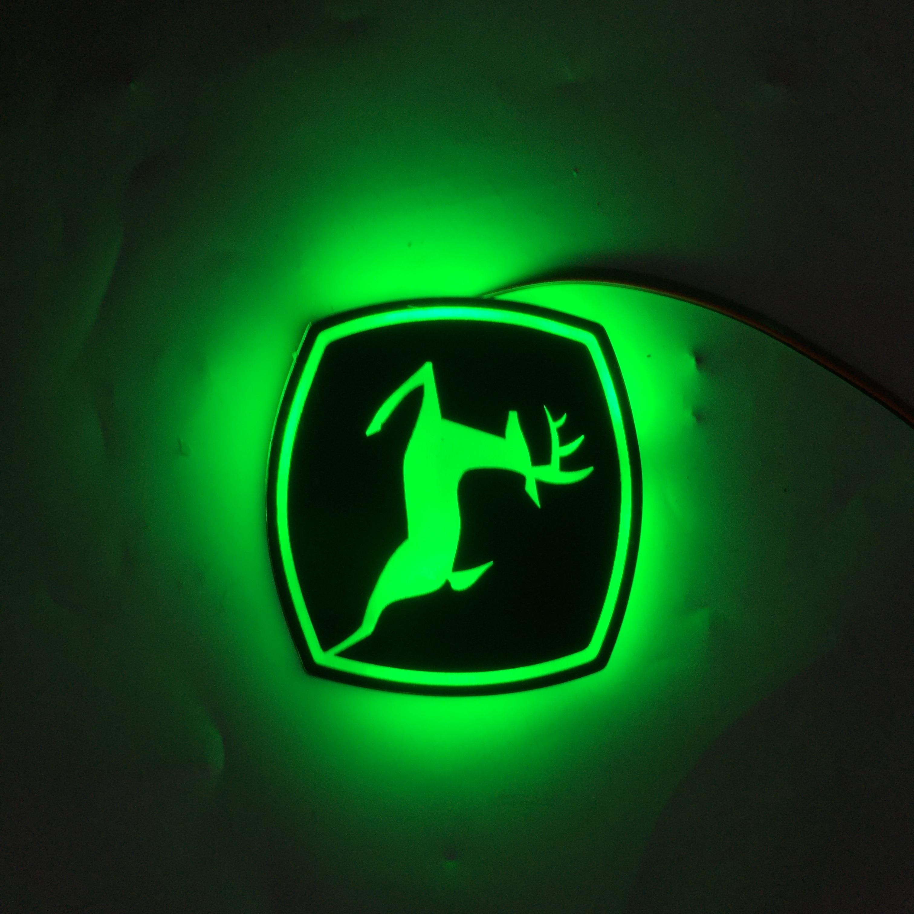 JOHN DEERE Front Logo
