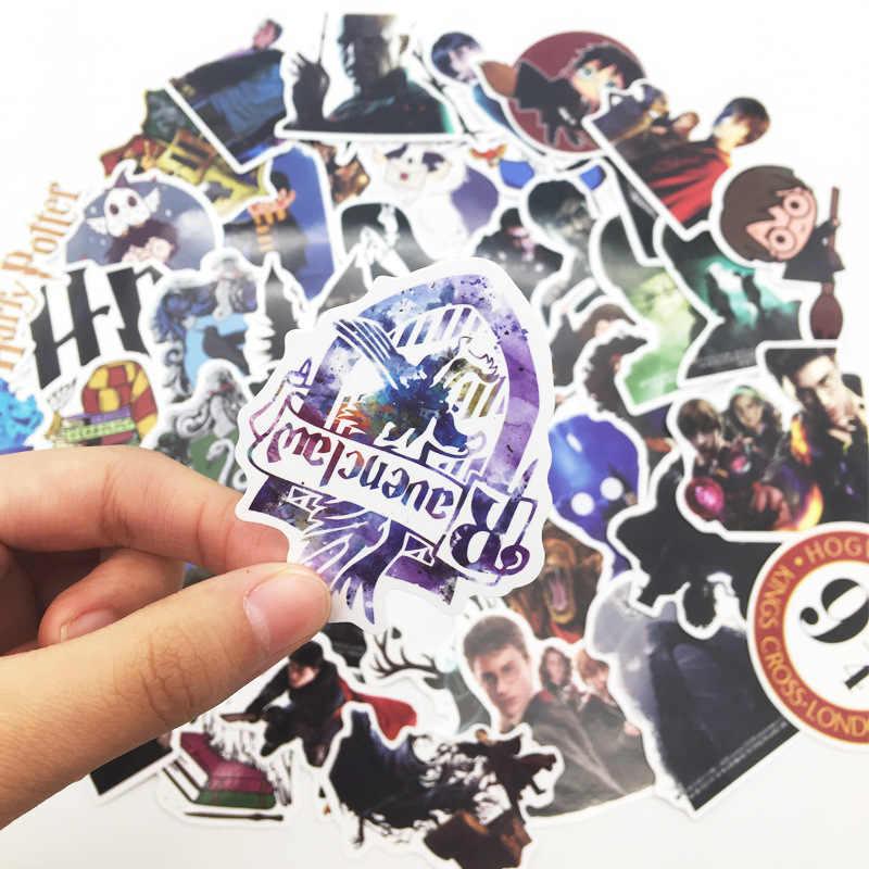 50 Pcs Funko Potter Kartun Harry Sticker untuk Laptop Gitar Sepeda Motor Bagasi Skateboard Doodle Stiker Mainan