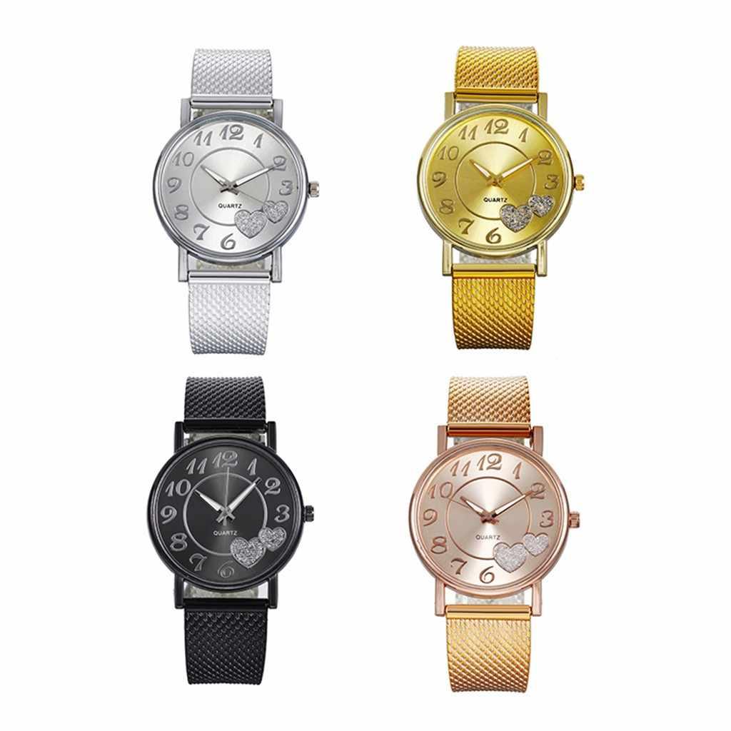 Relógios femininos a mais recente moda topo senhoras malha cinto relógio selvagem senhora criativa moda presente reloj mujer