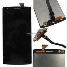 100% Garantie Getestet Perfekte Für Oneplus one LCD Display Touch Screen sensor Für Oneplus Eine 1 + A0001 digitizer freies verschiffen