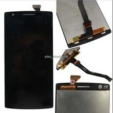 รับประกัน 100% ทดสอบที่สมบูรณ์แบบสำหรับ OnePlus One LCD จอแสดงผล Touch Screen SENSOR สำหรับ OnePlus One 1 + A0001 Digitizer ฟรีการจัดส่ง