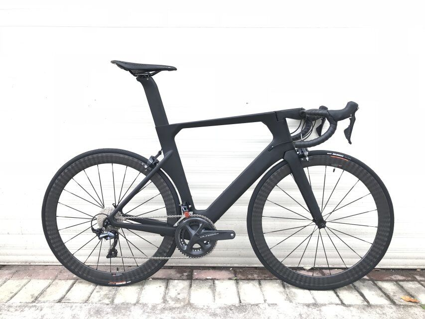 Image 2 - Costelo Aeromachine monocoque one piece mould disc road bicycle carbon bike complete bicycle completo bicicletta R8000 group-in Bicycle from Sports & Entertainment