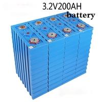 16 pz/lotto lifepo4 batterie ricaricabili 3.2v200ah cella 2020 nuovo calb se200fi plastica 12v24v blocco ev solare eua
