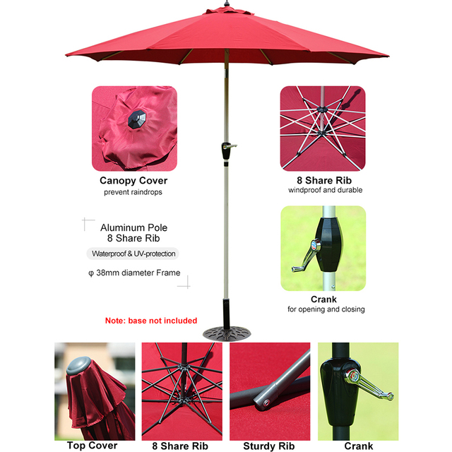Patio Outdoor Market Umbrella  2