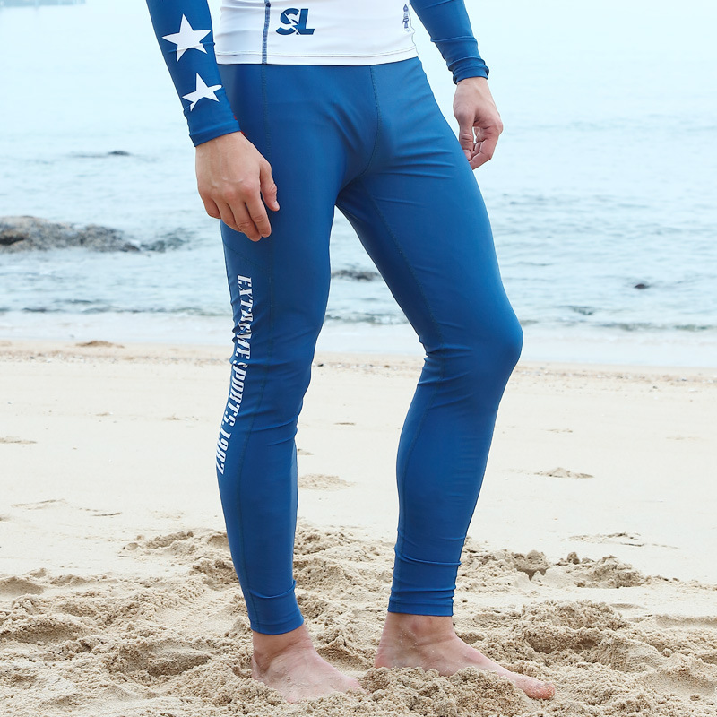 SABOLAY Japanese Korean Direct Supply Boardshort MEN'S Trousers Snorkeling Suit Set Sun-proof Trousers Waterproof Mother Swimmin